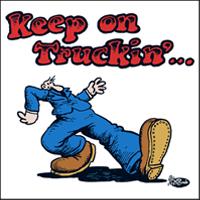 Image result for mr. natural keep on truckin images